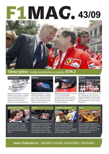 43/09 - F1sports.cz