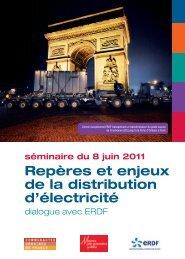 Repères et enjeux de la distribution d'électricité - Association des ...