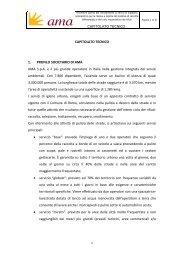 Allegato 5 Capitolato tecnico - Ama
