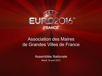 le Cahier des Charges de l'UEFA EURO 2016 - Association des ...