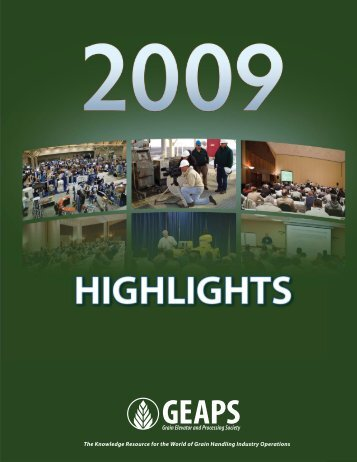 GEAPS Highlights: 2009