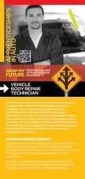MAAP Brochure-Vehicle Body Repair Tech.indd - MAAP My Future