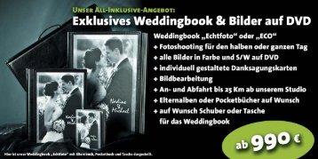 Zum Download: Aktuelle Hochzeitspreisliste - Studio Prokopy