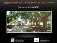 Téléchargez le projet paysager de réaménagement du ... - Lambesc
