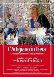 1-9 de Dezembro de 2012 - L'Artigiano in Fiera