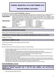 CONSEIL MUNICIPAL DU 20 SEPTEMBRE 2012 ... - Bergerac