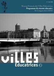 bulletin RFVE n°1 - mai 2006 - Réseau Français des Villes ...