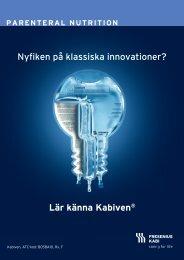 Nyfiken på klassiska innovationer? Lär känna ... - Fresenius Kabi