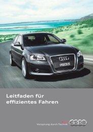 Leitfaden für effizientes Fahren - Audi
