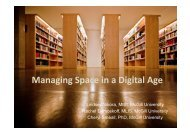 Managing Space in a Digital Age