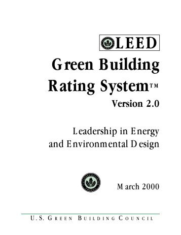 Newslidehighlights of st for Leed for homes rating system