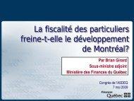 Brian Girard - Association des économistes québécois