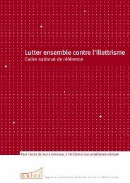 Lutter ensemble contre l'illettrisme - Agence Nationale de Lutte ...