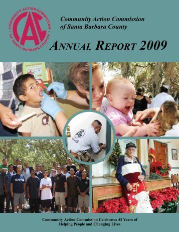 ANNUAL REPORT 2009 - Community Action Commission