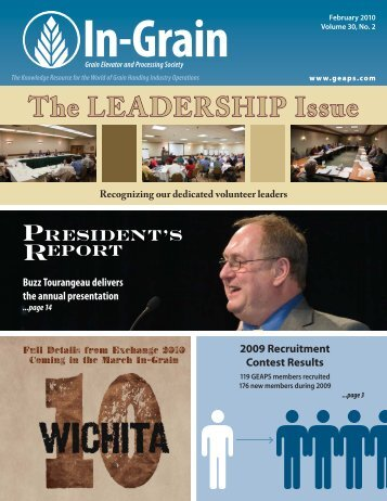 The LEADERSHIP Issue - GEAPS