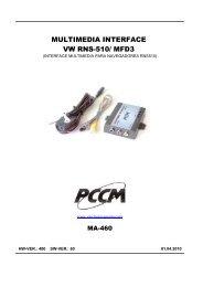MULTIMEDIA INTERFACE VW RNS-510/ MFD3 - Epc.net.pl