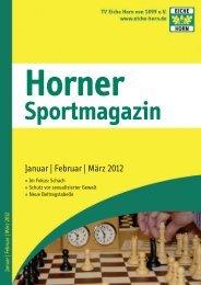 """Horner Sportstiftung""! - Trenz AG"