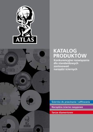 Ściernice do przecinania i szlifowania - Atlas