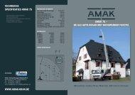 AMAK 75 - Vlutters Verticaal Transport