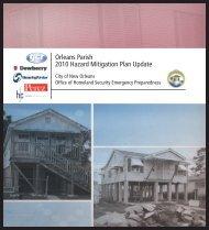 Orleans Parish 2010 Hazard Mitigation Plan Update