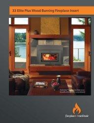 33 elite plus - Fireplaces