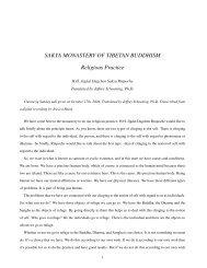 HHJD Sakya: Chenrezi Teaching - the Sakya Monastery of Tibetan ...