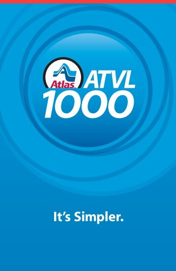 Download ATVL 1000 Brochure (PDF - 340KB) - Atlas Van Lines