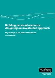 Investment consultation response - Nest