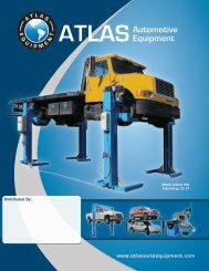 2013 Atlas Catalog - Atlas Automotive Equipment