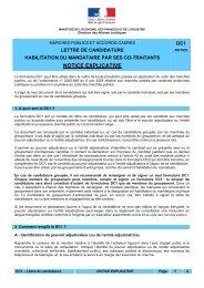 notice DC1 - Direccte