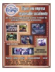 Etiprés (Reporte de Sostenibilidad) - Desarrollo Integral Sostenible