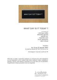 WHAT DAY IS IT TODAY ? - Asuivre... espaces des documents