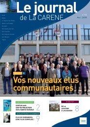 Vos nouveaux élus communautaires - La Carène
