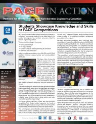 Students Showcase Knowledge and Skills at PACE Competitions