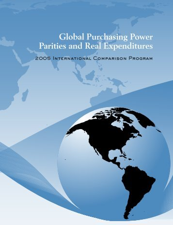 Global Purchasing Power Parities and Real Expenditures - Afristat