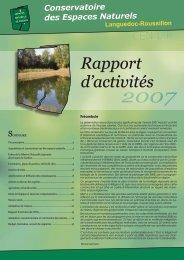 Rapport d'activités - Pôle-relais lagunes méditerranéennes