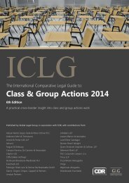 Class & Group Actions 2014