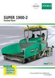 SUPER 1900-2 Tracked Paver - Attrans Commercials Ltd.