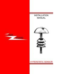 HYPERSTATIC SENSOR INSTALLATION MANUAL - Thor Guard, Inc.