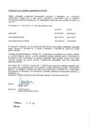Vyúčtování ceny vodného a stočného za rok 2012 ... - Harrachov