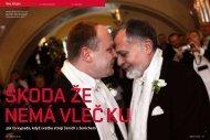 Jak to vypadá, když svatbu strojí ženich s ženichem - Jan Šibík