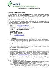 EDITAL DE PREGÃO ELETRÔNICO nº 20/2012 ... - Conab