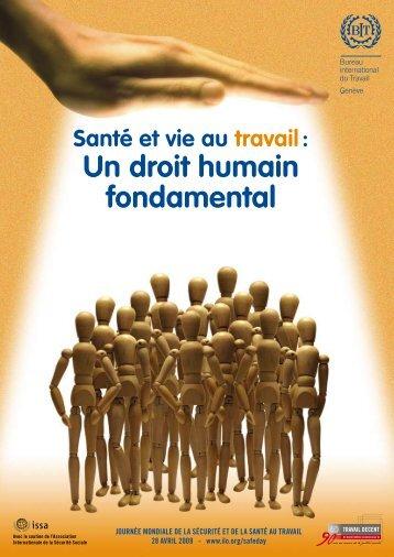 Santé et vie au travail: un droit humain fondamental - Brochure - (pdf ...