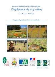 Rapport d'évaluation du circuit écotouristique - Ecotourisme dans ...