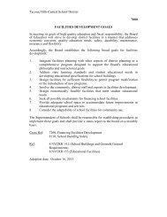 Facilities Development Goals 7000-7365 - Taconic Hills Central ...