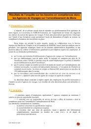 Agences de Voyage - CSEF Mons
