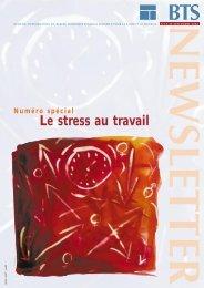 Newsletter n¡stress -FR-17 - Santé - Sécurité au Travail dans les ...