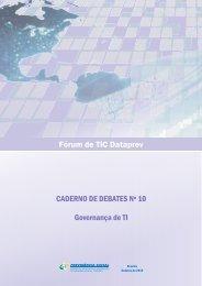 10º Caderno de Debates - Dataprev