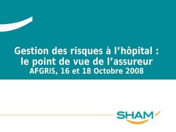 Gestion des risques à l'hôpital - Afgris