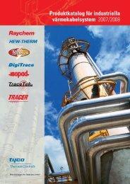 Produktkatalog för industriella värmekabelsystem - Pentair Thermal ...